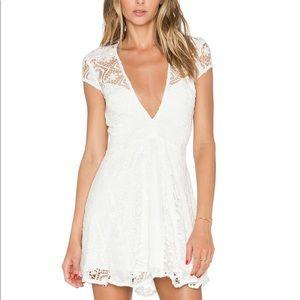 For Love & Lemons Mariposa Mini Dress